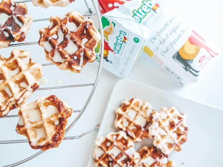 Cinnamon Roll Waffles / FairebelCampaign