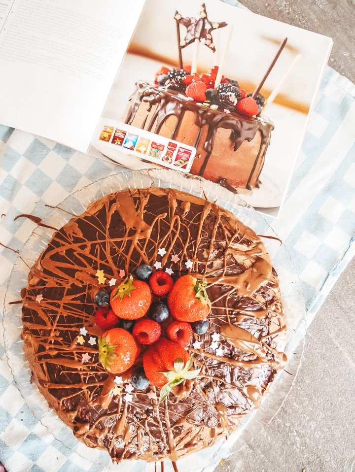 Chocolate Drip cake from Dr. Oetker